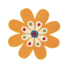 <strong>Dynamic Rugs</strong> Fantasia FlowerYellow  Kids Rug