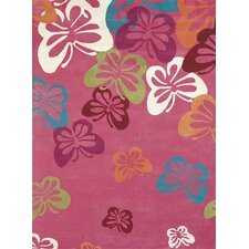 <strong>Dynamic Rugs</strong> Fantasia Fan Girls Light Pink Kids Rug