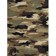 Fantasia Fan Boys Army Kids Rug