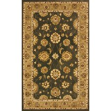 <strong>Dynamic Rugs</strong> Jewel Green/Dark Linen Rug