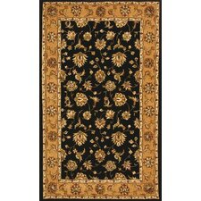 Jewel Black/Camel Rug