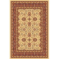 <strong>Dynamic Rugs</strong> Yazd Cream/Red Rug