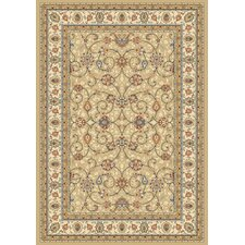 Ancient Garden Light Gold/Ivory Rug