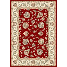 <strong>Dynamic Rugs</strong> Ancient Garden Red/Ivory Rug
