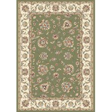 Ancient Garden Green/Ivory Rug
