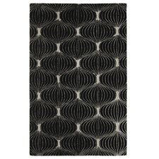 <strong>Dynamic Rugs</strong> Allure Black/Silver Allurerary Rug