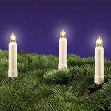 LED-Lichterkette in Elfenbein