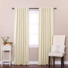 Thermal Insulated Blackout Curtain Panels (Set of 2)