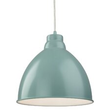 Foxglove 1 Light Bowl Pendant