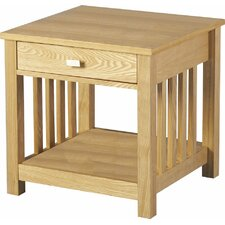 Freesia One Drawer Side Table
