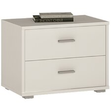 Clarkia 2 Drawer Bedside Table
