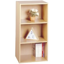 Buzz 3 Shelf Bookcase