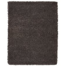 Silky Shag Brown Area Rug