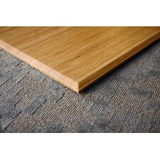 Plush Bamboo Office Chairmat, With Lip