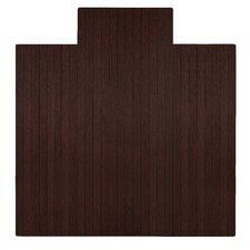 Standard Bamboo Office Chair Mat