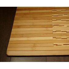 Bamboo Kitchen and Bath Area Mat