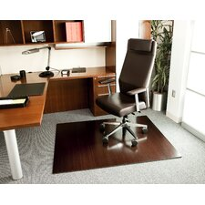 <strong>Anji Mountain</strong> Bamboo Deluxe Hard Floor Rounded Edge Chair Mat
