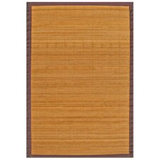 <strong>Anji Mountain</strong> Bamboo Rugs Villager Natural Rug