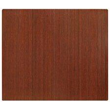 Standard Bamboo Roll-Up Chairmat 5mm Rectangular