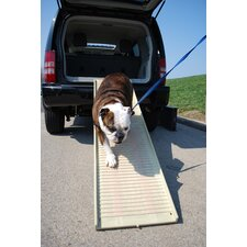 Folding Pet Ramp in Khaki