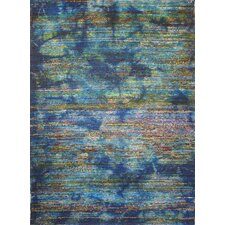 <strong>Foreign Accents</strong> Boardwalk Blue/Multi Rug