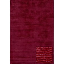 <strong>Foreign Accents</strong> Urban Gallery Merlot Rug