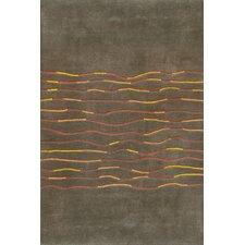 Festival Seal Brown Area Rug