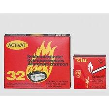 Kohlenanzünder (32er Pack)