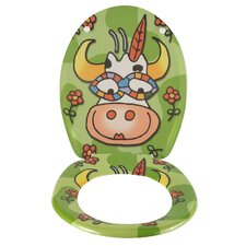 "WC-Sitz ""Crazy Cow"""