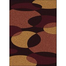 <strong>Radici USA</strong> Bella Discs Brown/Copper Rug
