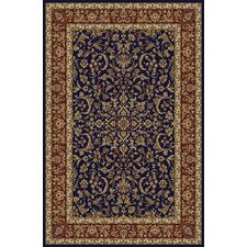 Noble Navy/Red Rug
