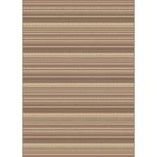 Arte Beige Striped Rug