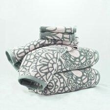 Vivendi Home Yarn Dye Jacquard 6 Piece Towel Set