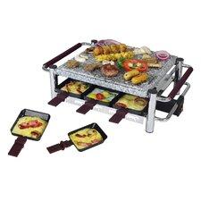 Raclette in Schwarz