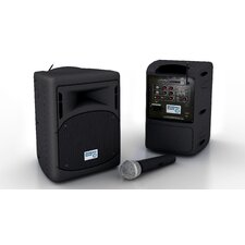 3 Piece Wireless 40W PA System Set