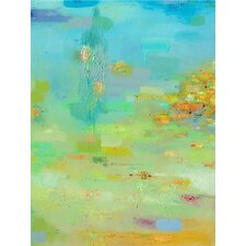 Spring Reflections by AX Original Painting Print on Canvas