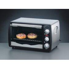 1200W Back & Grill Ofen mit Drehspieß