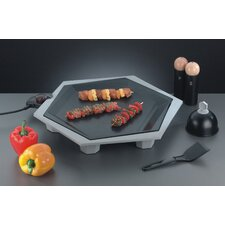 "Party Grill Set ""FunTasia"" Special Edition in Silbergrau / Schwarz"