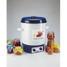 1800W Einkoch-/ Kochvollautomat in Weiß / Blau