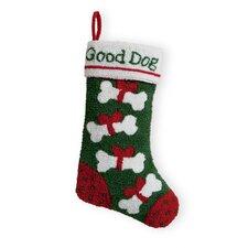 Good Dog Hooked Stocking