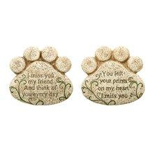 Pet Bereavement Stepping Stone (Set of 2)
