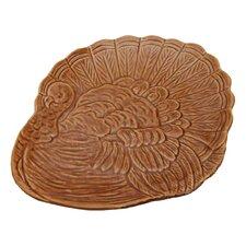 "Turkey 10"" Stoneware Plate (Set of 4)"