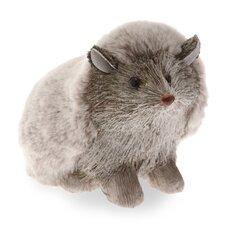 "5"" Snowy Grass Hedgehog Figurine"