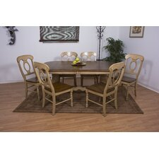 <strong>Sunset Trading</strong> Brookdale 7 Piece Dining Set