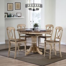Brookdale 5 Piece Counter Height Dining Set