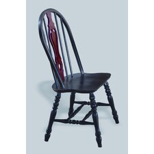 Sunset Selections Keyhole Back Side Chair