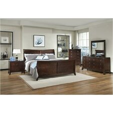<strong>Sunset Trading</strong> Alexandra Sleigh Bedroom Collection