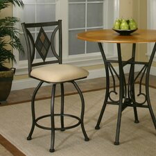 Casual Dining Dart Swivel Bar Stool with Cushion