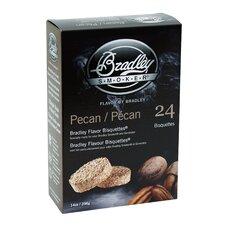 Pecan Flavor Bisquettes (Set of 24)