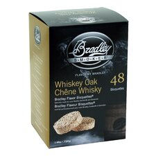 Whiskey Oak Flavor Bisquettes (Set of 48)